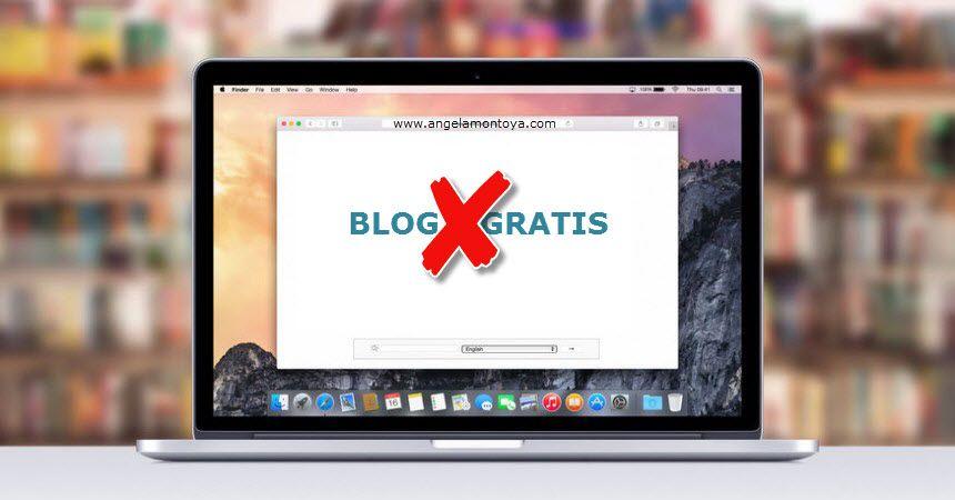 Por que no utilizar un blog gratuito