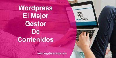 Porque WordPress es el mejor gestor de contenidos para tu blog